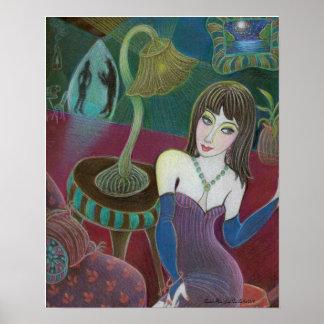 """""""Poster del arte del lugar de Sasha"""" Póster"""