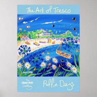 Poster del arte: Días del frailecillo, el arte de