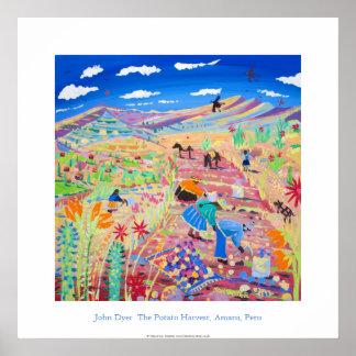Poster del arte: La cosecha de la patata, Amaru, P