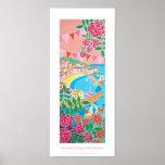 Poster del arte: Mousehole del jardín de la cabaña