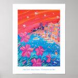 Poster del arte: Puesta del sol descarada, Villefr