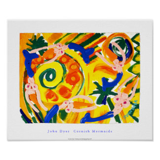 Poster del arte: Sirenas de Cornualles