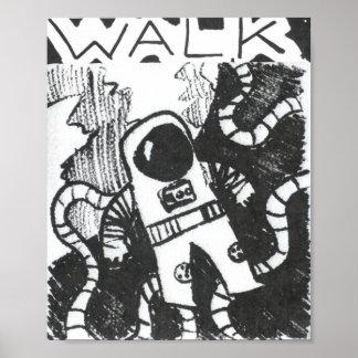 Poster del astronauta