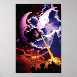 Poster del ataque del dragón