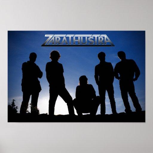 Poster del azul de Zarathustra
