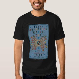 Poster del azul del mundial de Quidditch Remeras