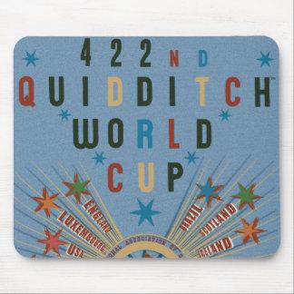 Poster del azul del mundial de Quidditch Alfombrilla De Raton