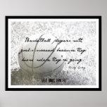 Poster del baloncesto con la cita 006
