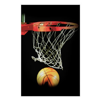 Poster del baloncesto - ilustraciones modernas