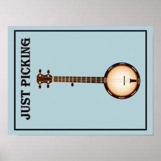Poster del banjo