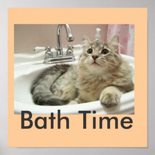 Poster del baño
