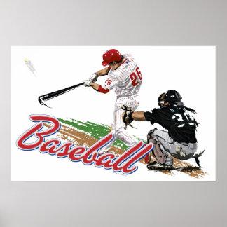 Poster del béisbol póster