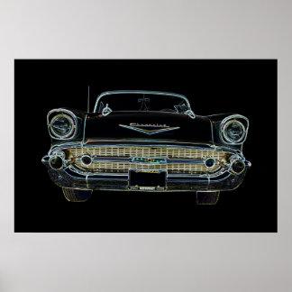 Poster del Bel Air de 57 Chevy Póster