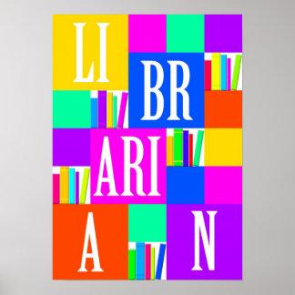 Poster del bibliotecario