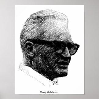 Poster del bosquejo de Barry Goldwater