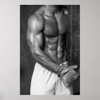 Poster del boxeador