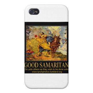 Poster del buen samaritano iPhone 4 cárcasa
