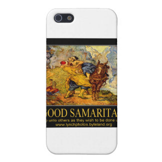 Poster del buen samaritano iPhone 5 cárcasas