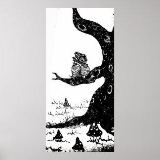 poster del búho