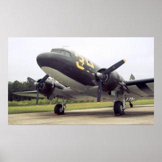 Poster del C-47 de Douglas