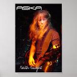 Poster del caballero de ASKA Keith