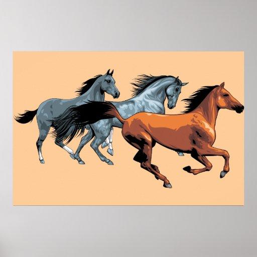 Poster del caballo