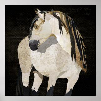 Poster del caballo blanco