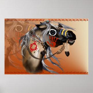Poster del caballo de guerra