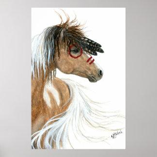 Poster del caballo del potro del alcohol por Bihrl