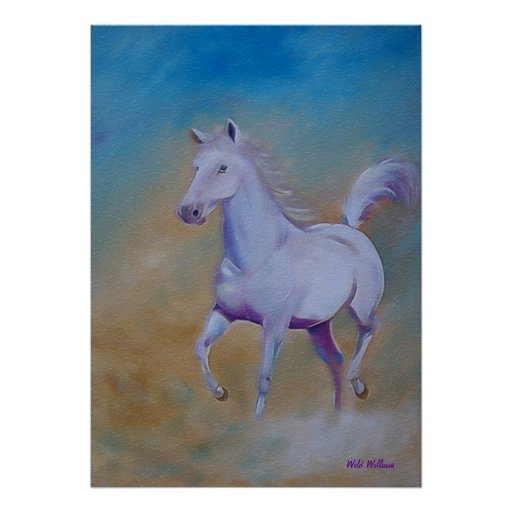 Poster del caballo salvaje póster