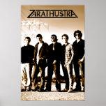 """Poster del """"cable de alta tensión"""" de Zarathustra"""