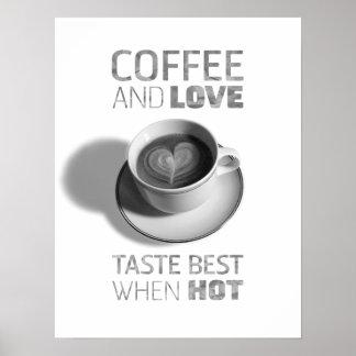 Poster del café