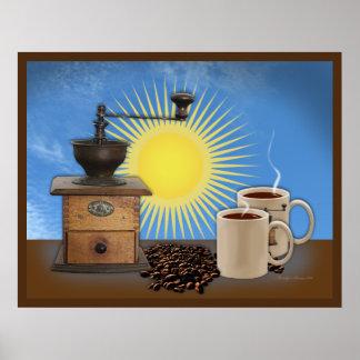Poster del café de la mañana