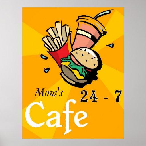 Poster del café póster