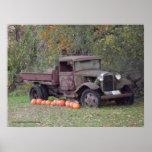Poster del camión 3 del vintage