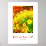 """Poster """"del campo Negro-Observado de Susan"""""""