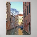 Poster del canal de Venecia