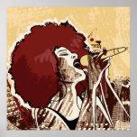 Poster del cantante de Afrocentric