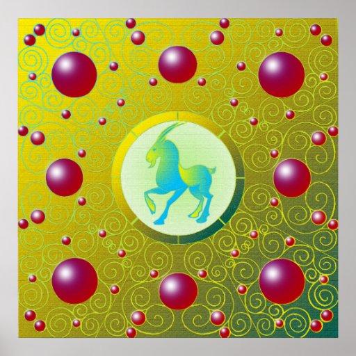 Poster del Capricornio Póster