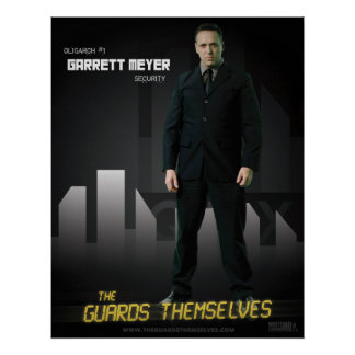 Poster del carácter de Garrett Meyer