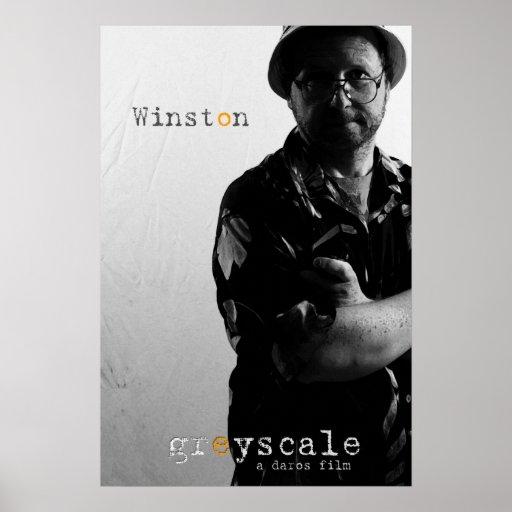 Poster del carácter de Winston
