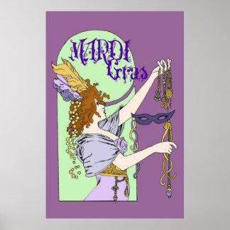 Poster del carnaval de Mucha