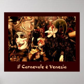 Poster del carnaval de Venecia