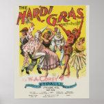 Poster del carnaval del vintage