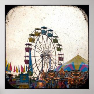 Poster del carnaval póster
