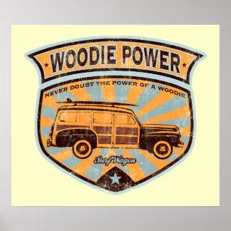 Poster del carro de Woodie