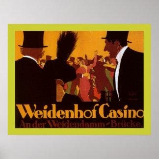 Poster del casino de Weidenhof