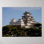 Poster del castillo de Himeji