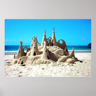 Poster del castillo de la arena