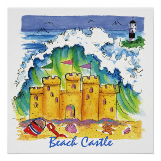 Poster del castillo de la playa